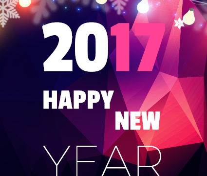 HAPPY NEW YEAR ! WISHING YOU THE BEST IN 2017 !!!